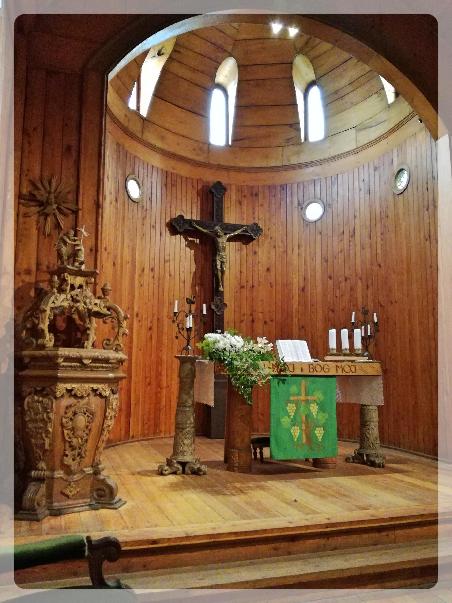 Die norwegische Stabkirche Vang