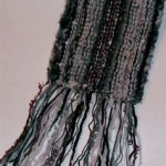 Ein Schal im Frühling
