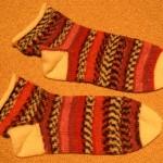 Wie originell – Socken fertig!