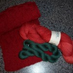 Hurra, Hurra – mein Schal ist (endlich) da!!!!