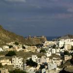 Letzter Blick auf Muscat