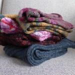 Socken über Socken