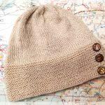 Lama-Seiden-Mütze