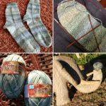 Letzte Weihnachts-Auftrags-Socken