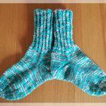 Mutter-Sohn-Socken