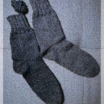 Zur Abwechlsung: graue Socken