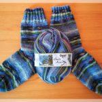 Impressionistische Socken
