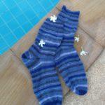 Blaue Unterwegs-Stinos