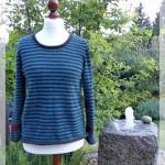 Ich freue mich – der Pullover ist fertig