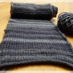 Wachsender Schal